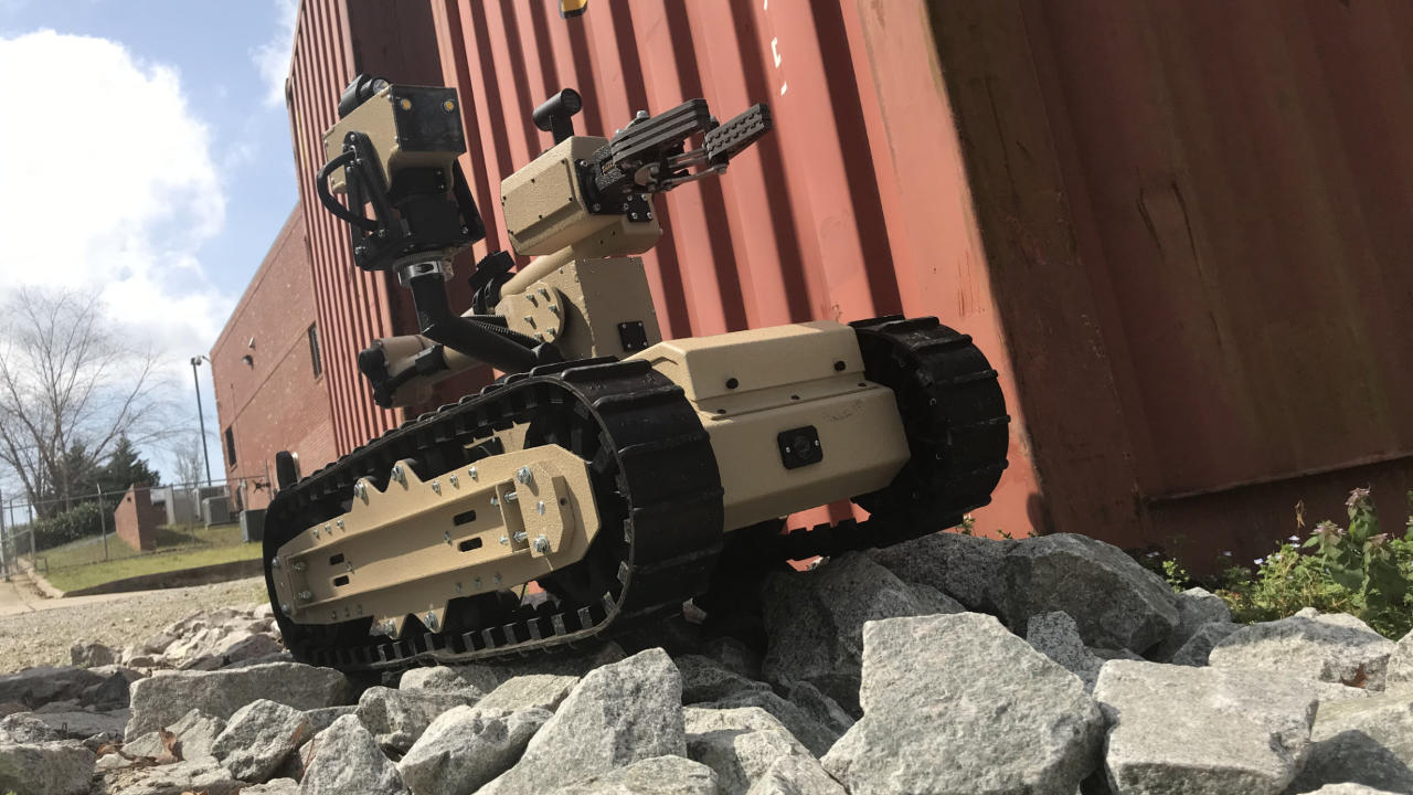 Tactical Robot on Rough Terrain
