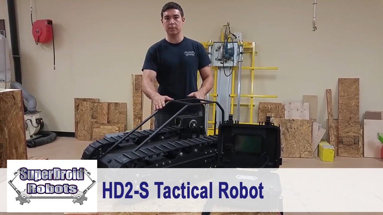 Doberman Tactical Robot Demonstration Video