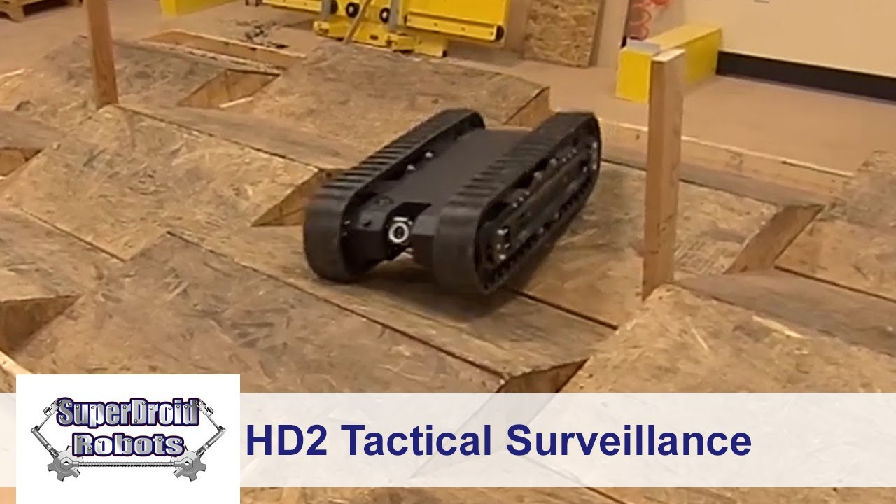 Doberman Surveillance Robot nose camera video